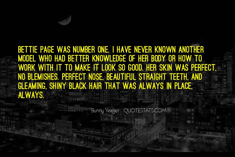 Bunny Yeager Quotes #448662