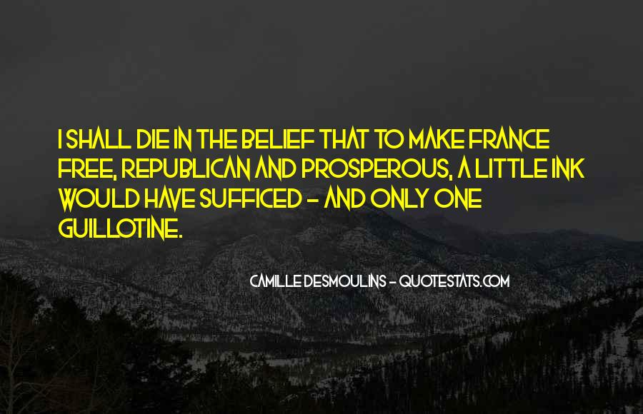 Camille Desmoulins Quotes #723819