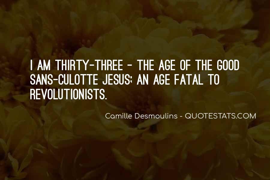 Camille Desmoulins Quotes #91412