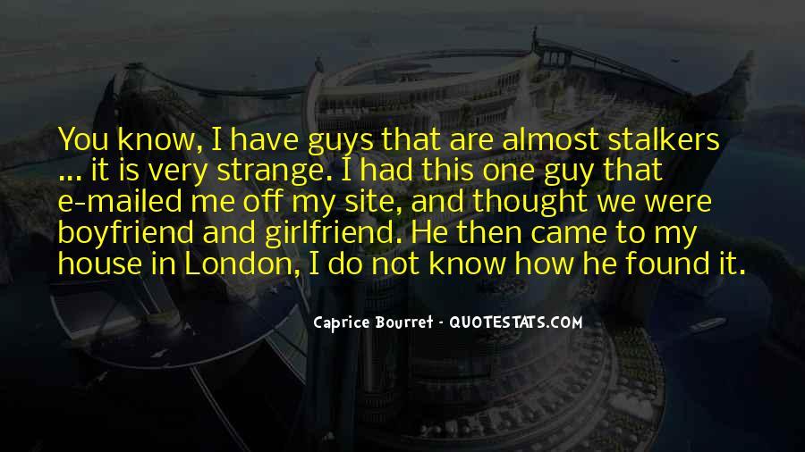 Caprice Bourret Quotes #1016227