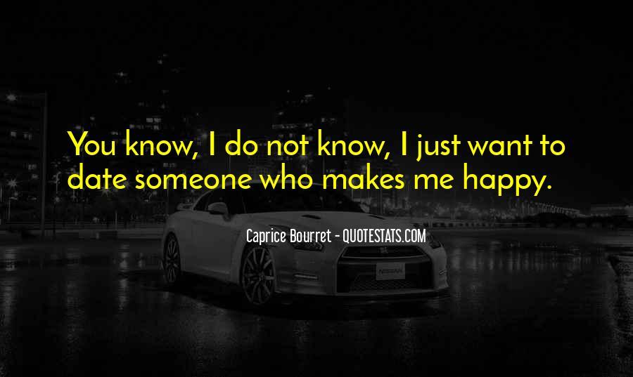 Caprice Bourret Quotes #444619