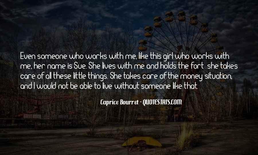 Caprice Bourret Quotes #7548