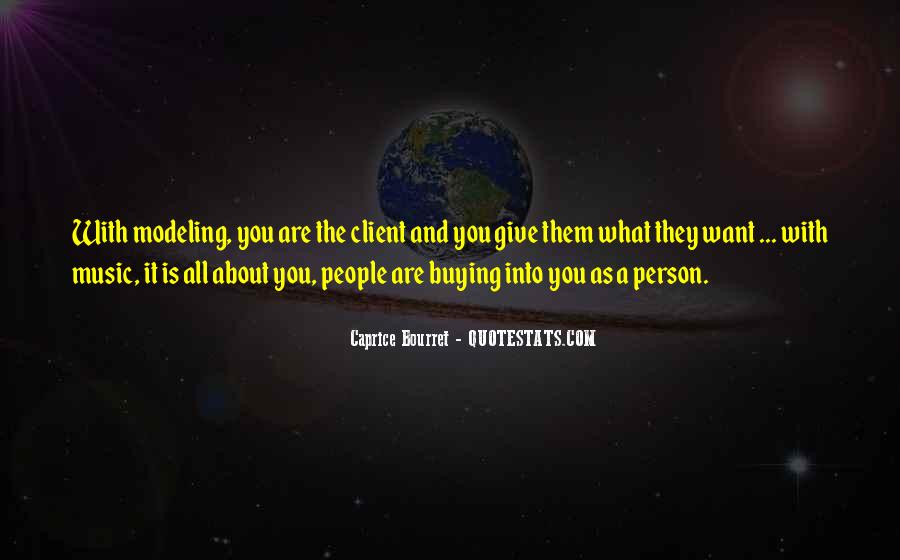 Caprice Bourret Quotes #820355