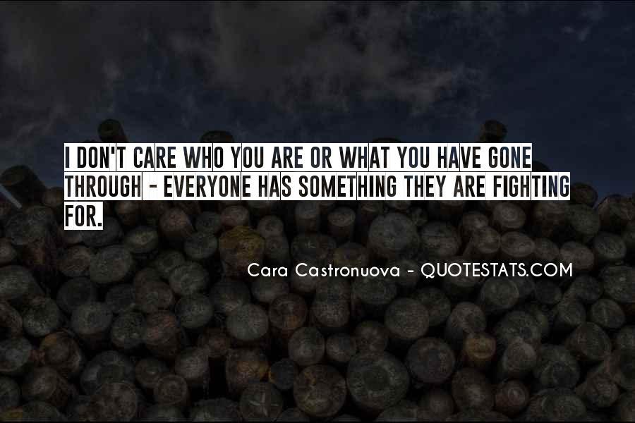 Cara Castronuova Quotes #1145789