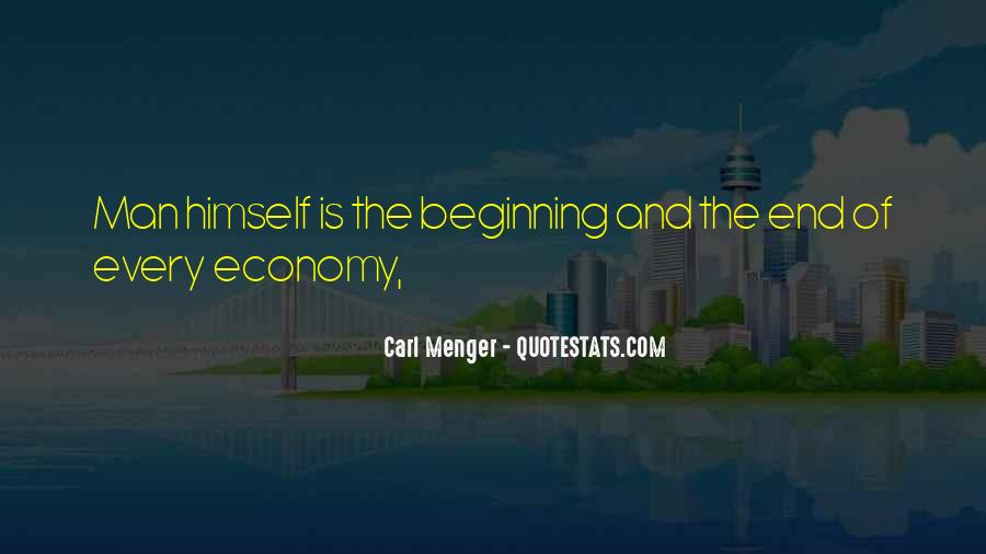 Carl Menger Quotes #908732