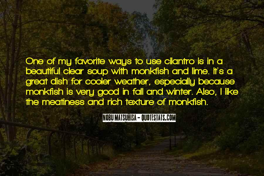 Quotes About Cooler Weather #463567