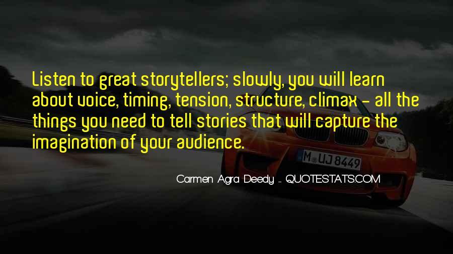 Carmen Agra Deedy Quotes #1071354