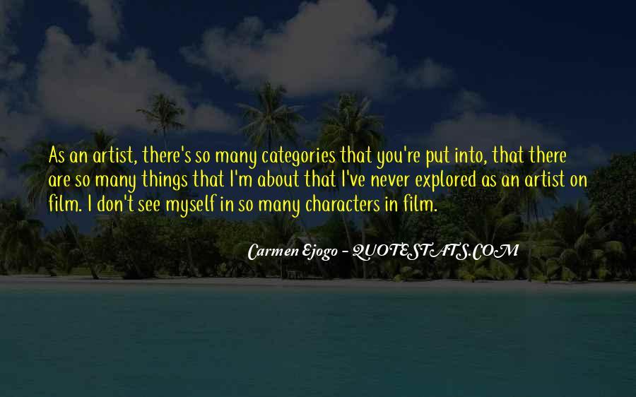 Carmen Ejogo Quotes #1360502
