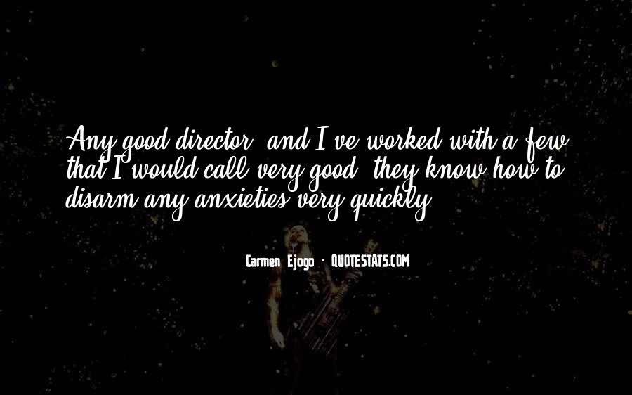 Carmen Ejogo Quotes #1524645