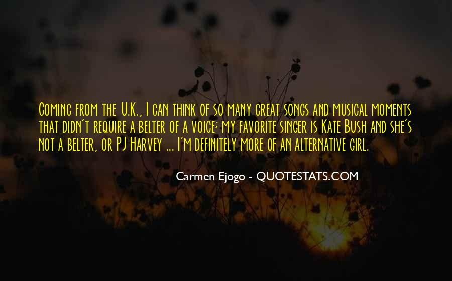 Carmen Ejogo Quotes #1666618