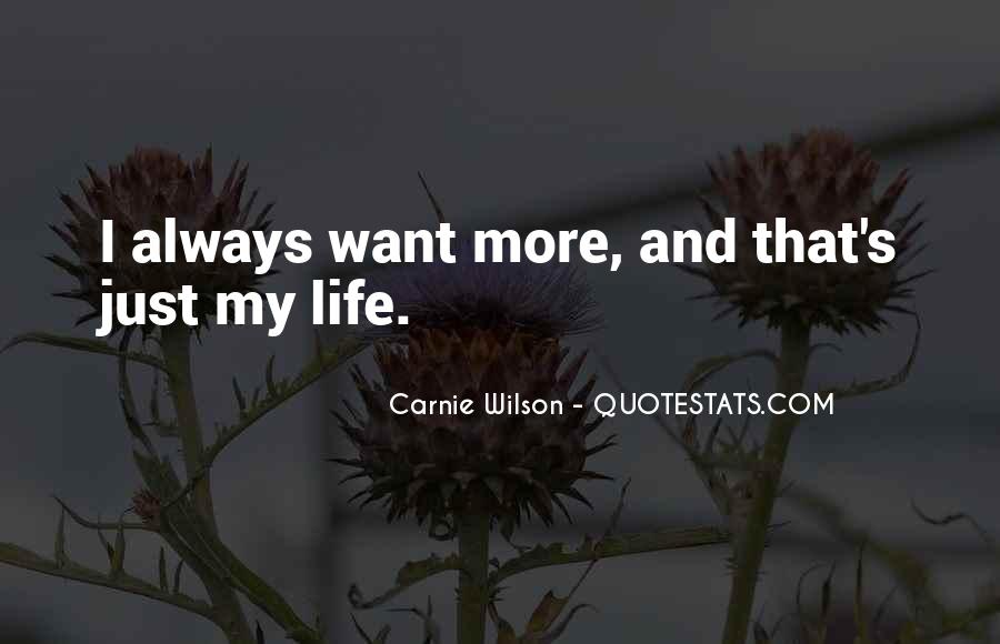 Carnie Wilson Quotes #1879177
