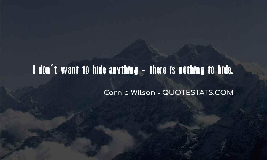 Carnie Wilson Quotes #206427