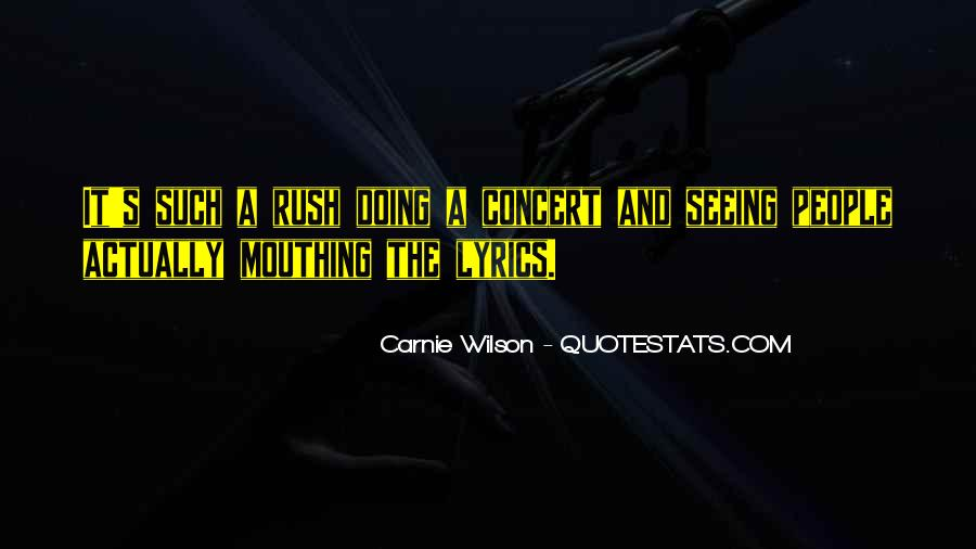 Carnie Wilson Quotes #350412