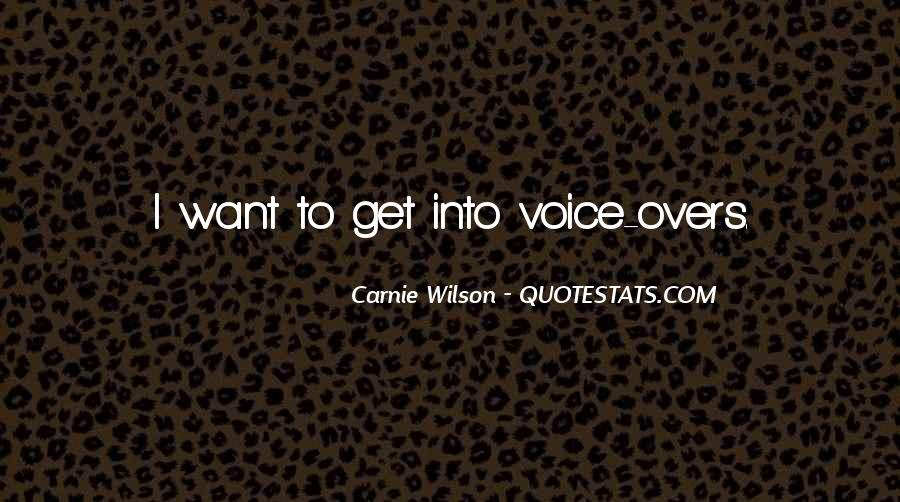 Carnie Wilson Quotes #720247