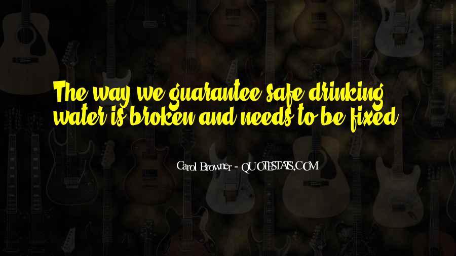 Carol Browner Quotes #696172
