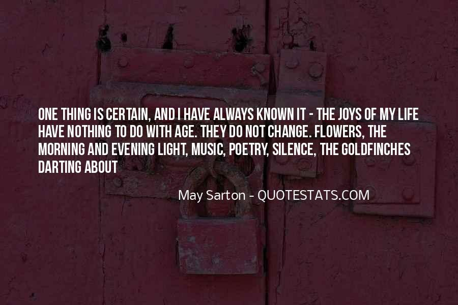Quotes About Morning And Flowers #1520083