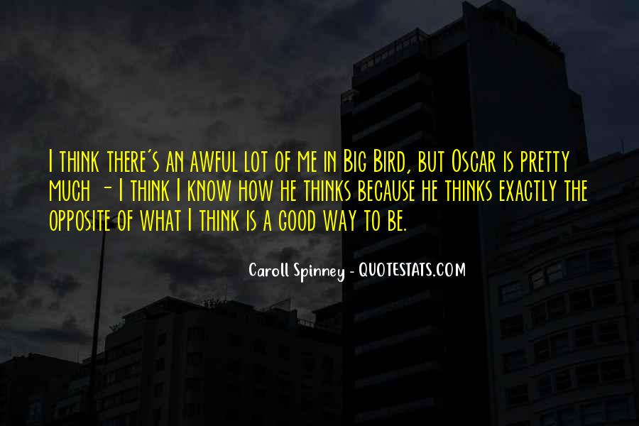 Caroll Spinney Quotes #1594358