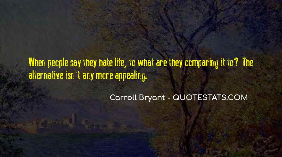 Carroll Bryant Quotes #682409