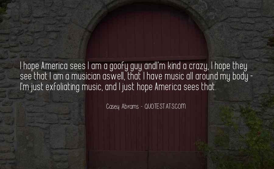 Casey Abrams Quotes #1291142