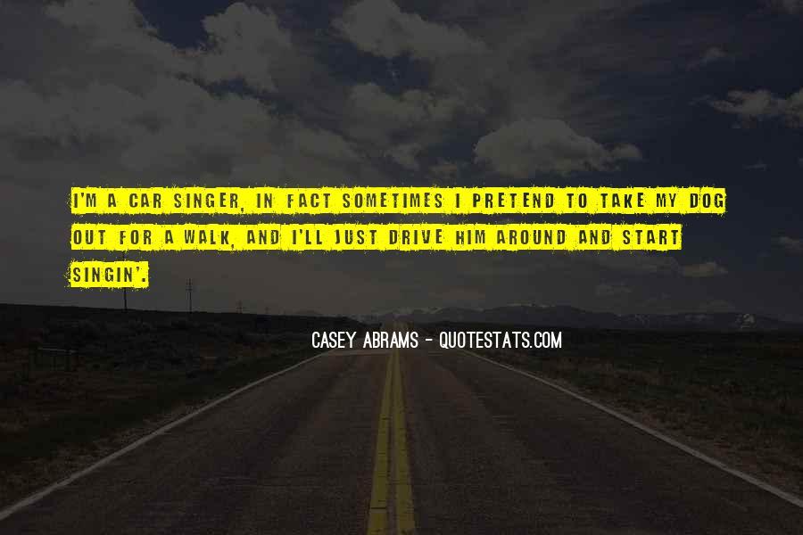Casey Abrams Quotes #144251