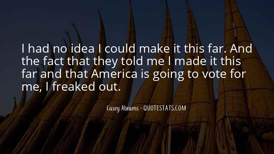 Casey Abrams Quotes #922882