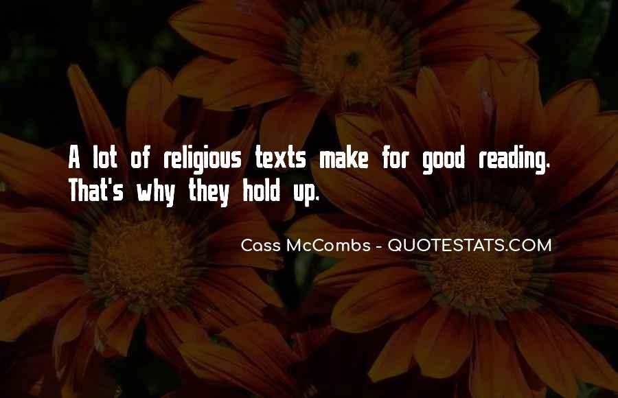 Cass Mccombs Quotes #123147