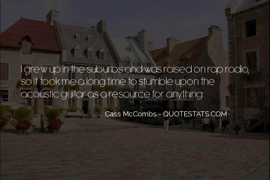 Cass Mccombs Quotes #1575661