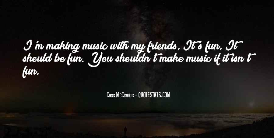 Cass Mccombs Quotes #286439