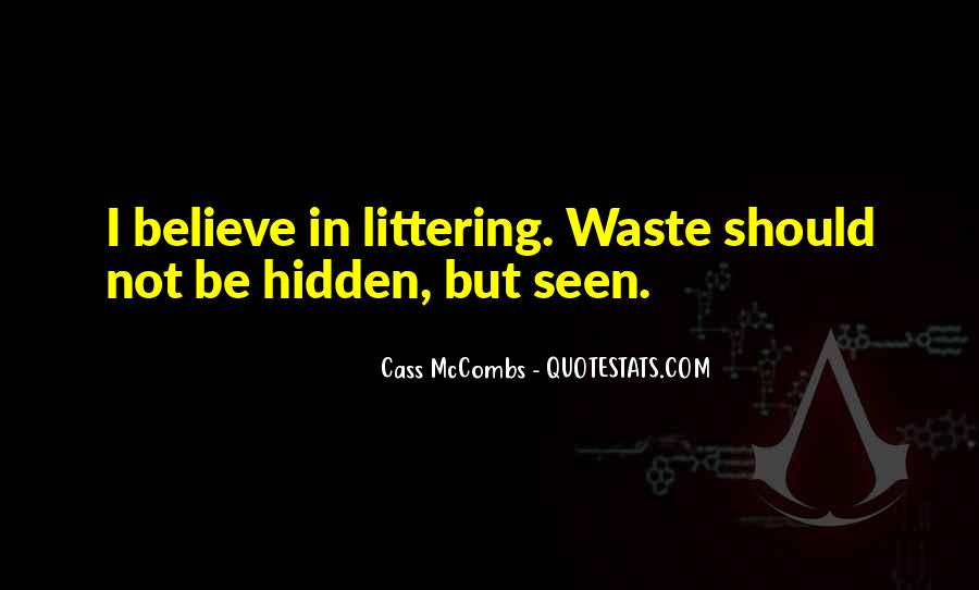 Cass Mccombs Quotes #411418