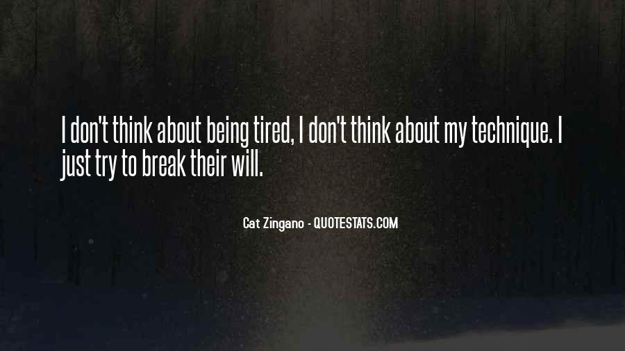 Cat Zingano Quotes #1222108