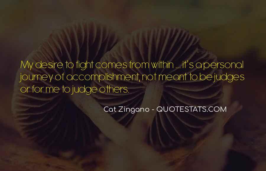 Cat Zingano Quotes #251781