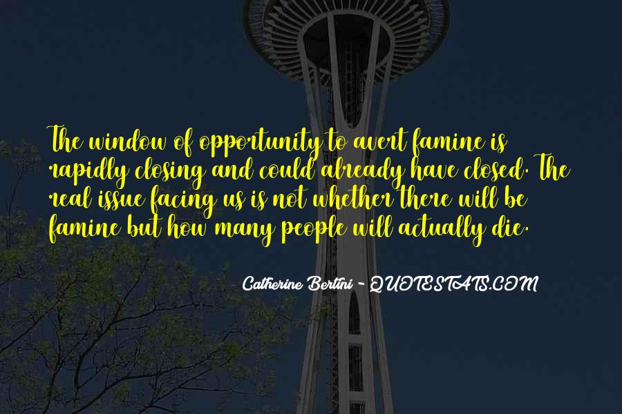 Catherine Bertini Quotes #1377509