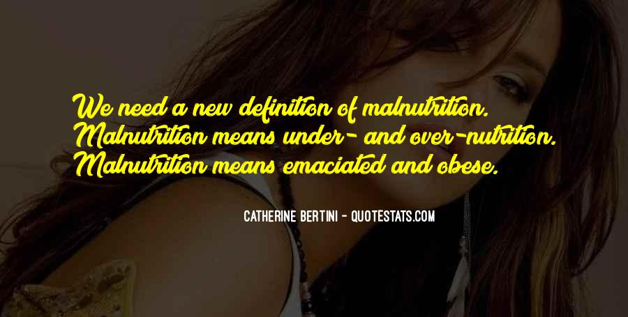 Catherine Bertini Quotes #969563
