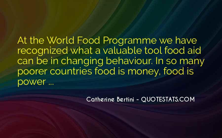 Catherine Bertini Quotes #973199