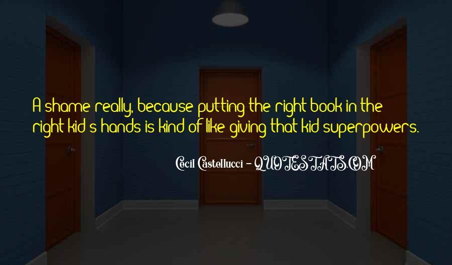 Cecil Castellucci Quotes #1034543
