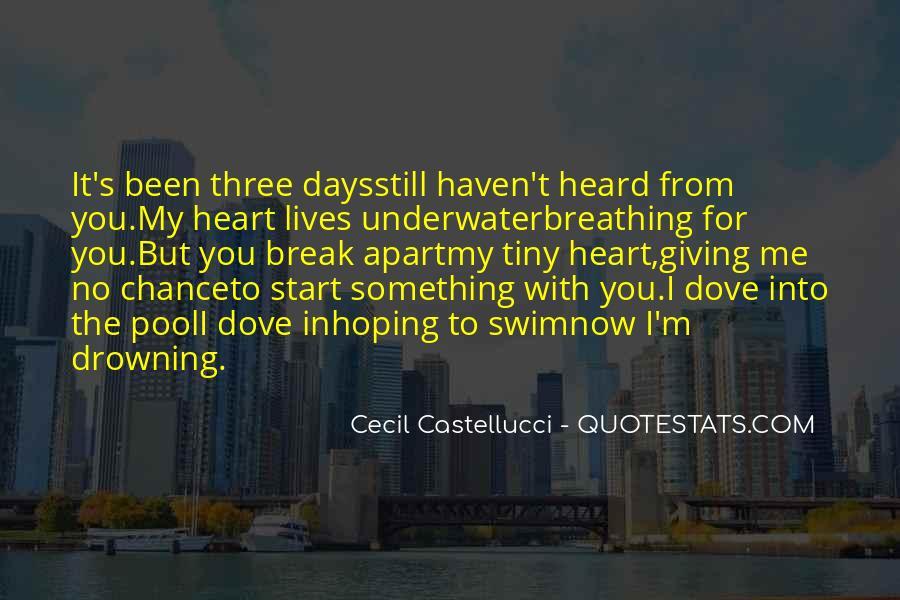 Cecil Castellucci Quotes #1578423