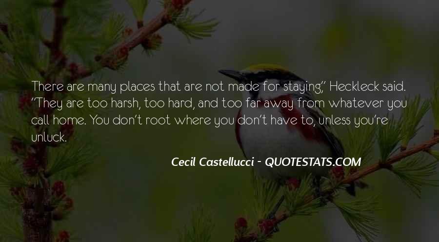 Cecil Castellucci Quotes #475244