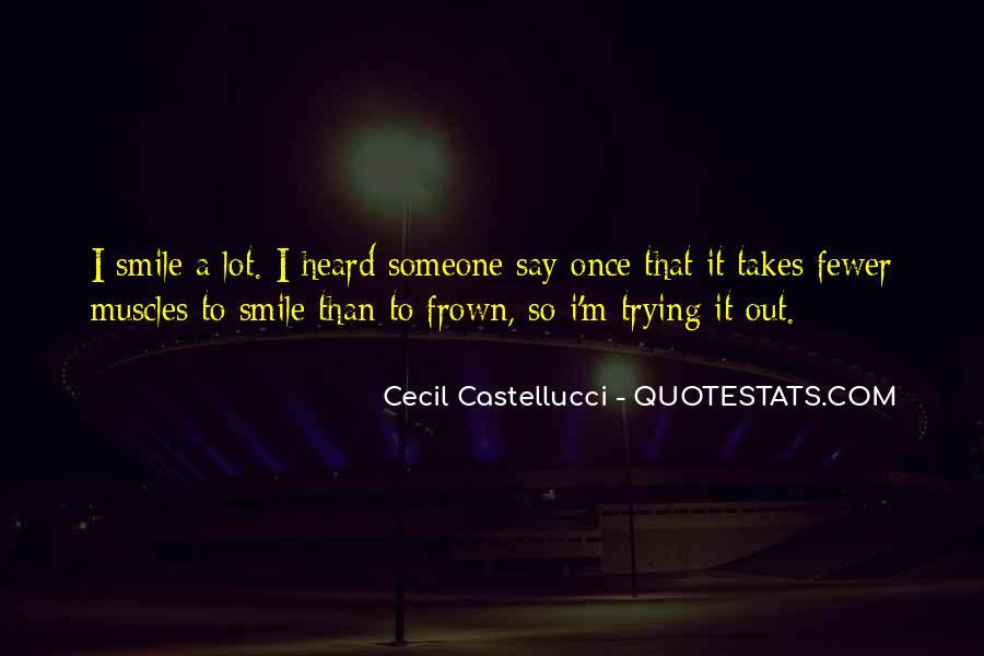 Cecil Castellucci Quotes #50003