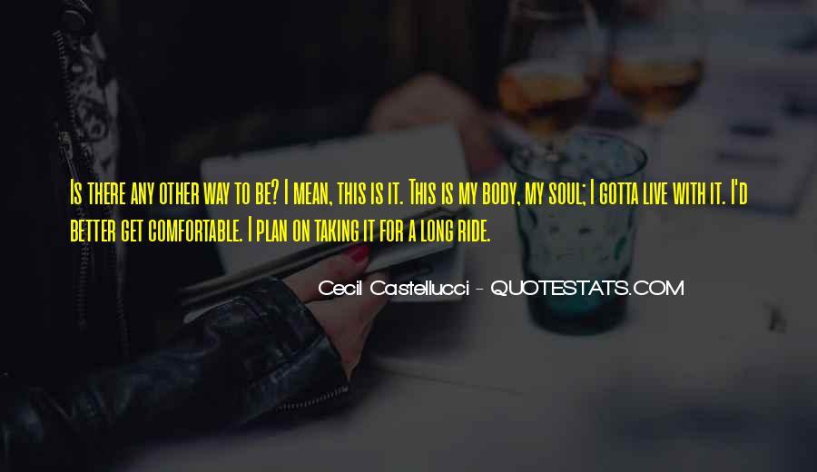 Cecil Castellucci Quotes #675267