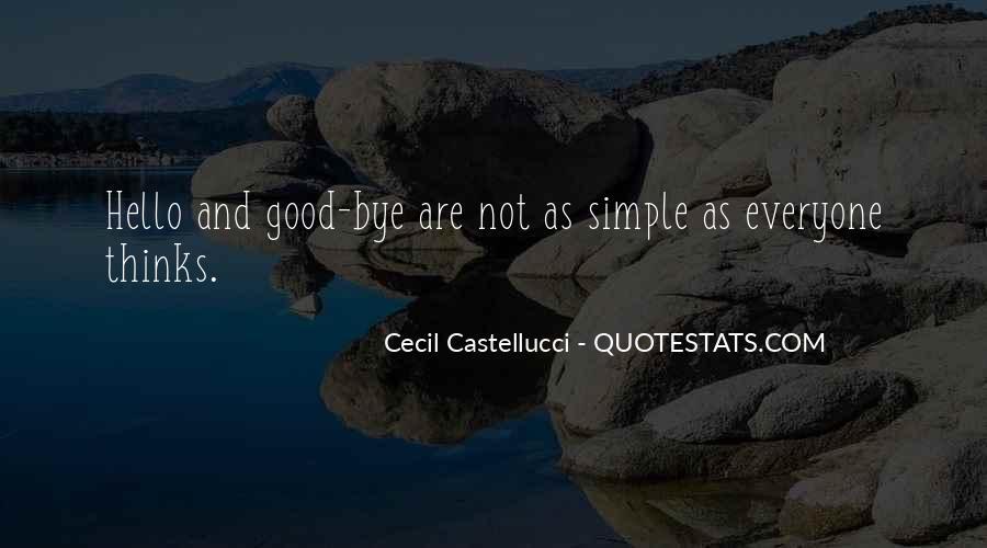 Cecil Castellucci Quotes #792392