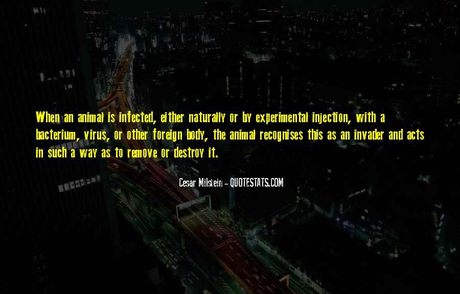 Cesar Milstein Quotes #1344023