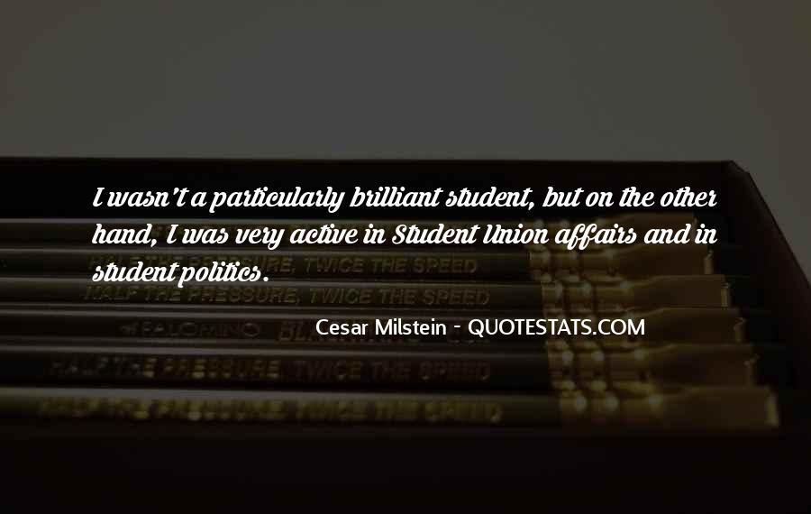 Cesar Milstein Quotes #1557862