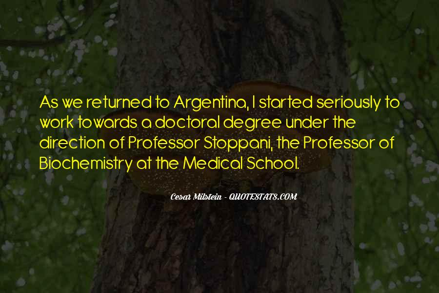 Cesar Milstein Quotes #424243