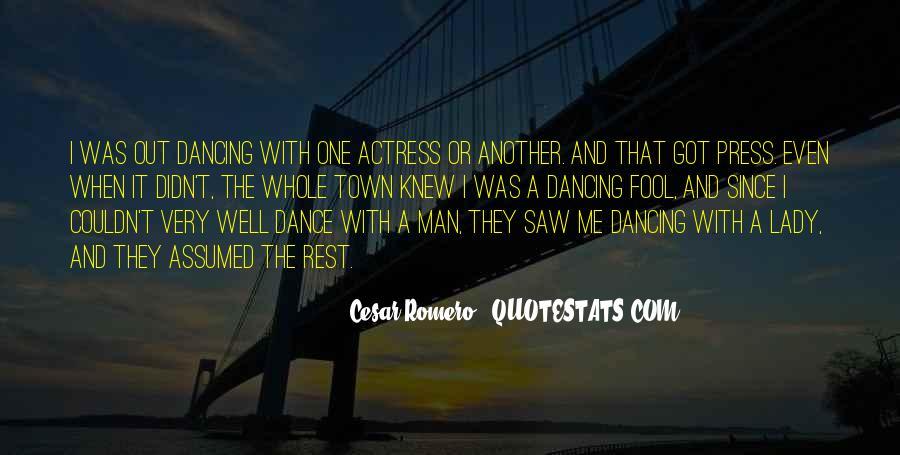 Cesar Romero Quotes #1118268