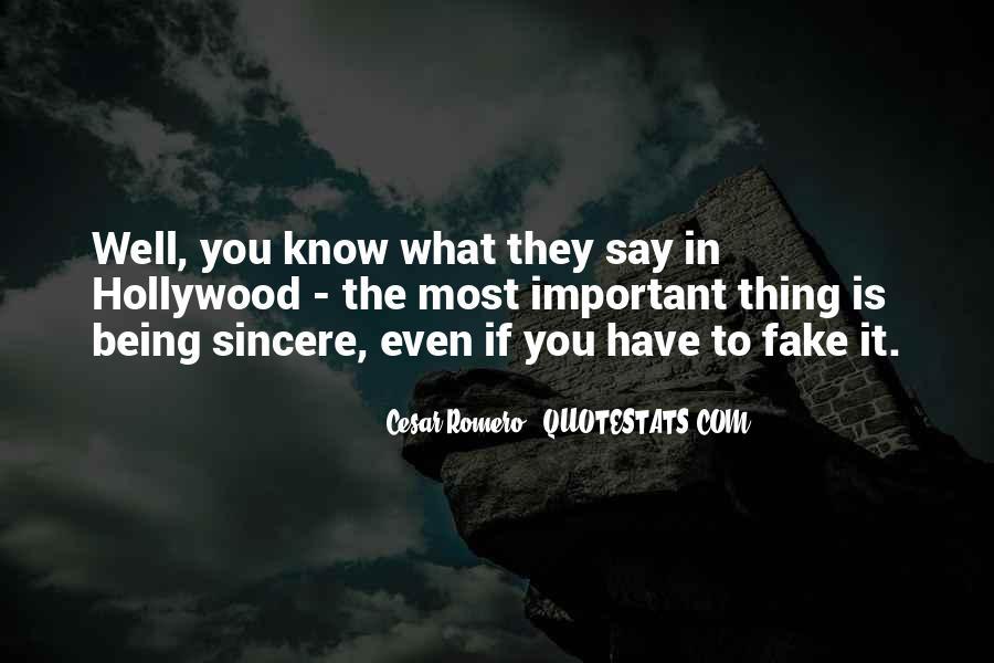 Cesar Romero Quotes #1379303