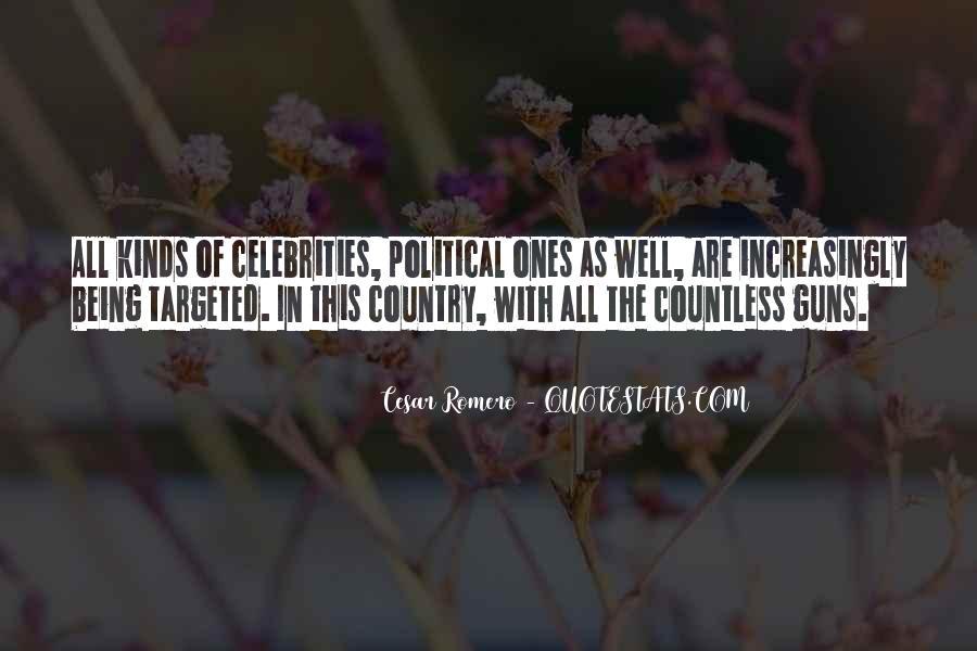 Cesar Romero Quotes #1802953