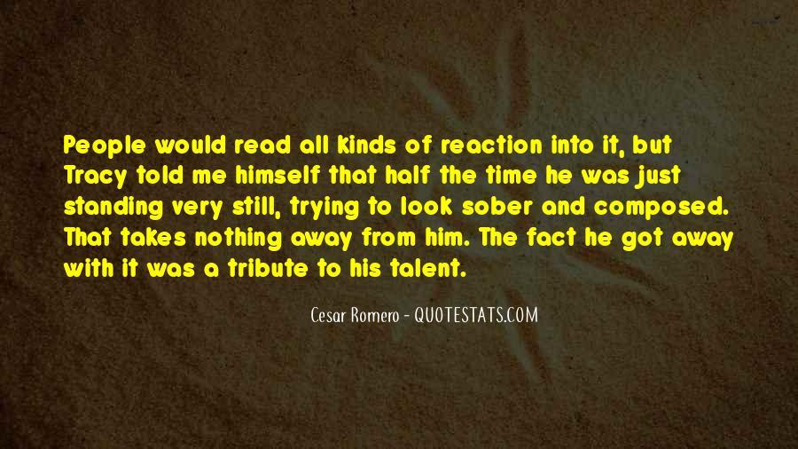 Cesar Romero Quotes #1812254