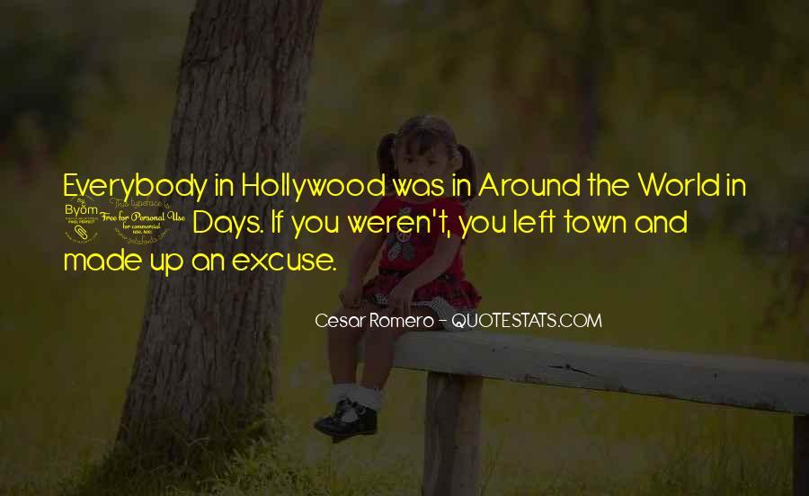 Cesar Romero Quotes #260492