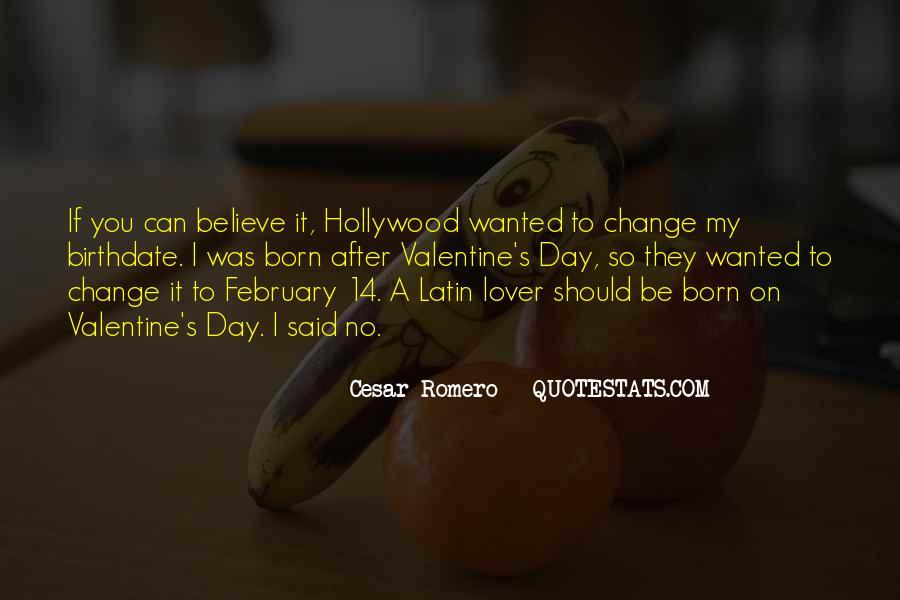 Cesar Romero Quotes #372604