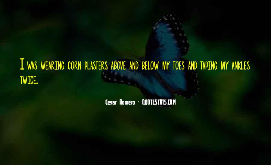 Cesar Romero Quotes #567814
